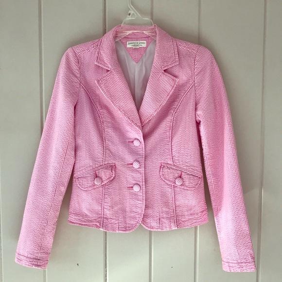 Tommy Hilfiger Jackets & Blazers - Tommy Hilfiger Pink Pinstripe Blazer